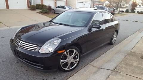 2003 Infiniti G35 for sale at Gwinnett Luxury Motors in Buford GA