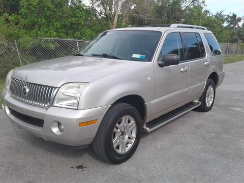 2004 Mercury Mountaineer for sale in Pompano Beach, FL