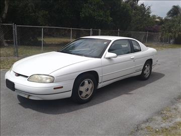 1999 Chevrolet Monte Carlo for sale in Pompano Beach, FL
