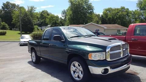 2002 Dodge Ram Pickup 1500 for sale at K & P Used Cars, Inc. in Philadelphia TN