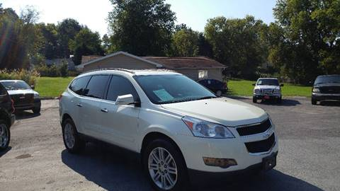 2011 Chevrolet Traverse for sale at K & P Used Cars, Inc. in Philadelphia TN