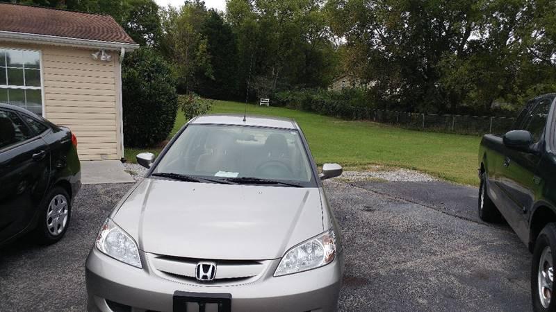 2004 Honda Civic for sale at K & P Used Cars, Inc. in Philadelphia TN