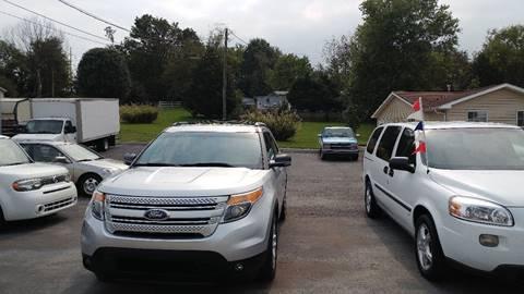 2012 Ford Explorer for sale at K & P Used Cars, Inc. in Philadelphia TN