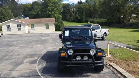 2005 Jeep Wrangler for sale at K & P Used Cars, Inc. in Philadelphia TN