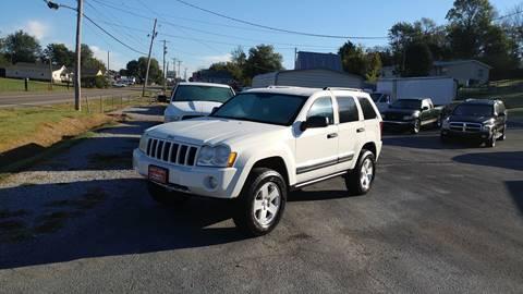 2006 Jeep Grand Cherokee for sale at K & P Used Cars, Inc. in Philadelphia TN