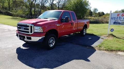 2005 Ford F-250 Super Duty for sale at K & P Used Cars, Inc. in Philadelphia TN