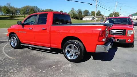 2011 RAM Ram Pickup 1500 for sale at K & P Used Cars, Inc. in Philadelphia TN
