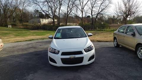 2012 Chevrolet Sonic for sale at K & P Used Cars, Inc. in Philadelphia TN