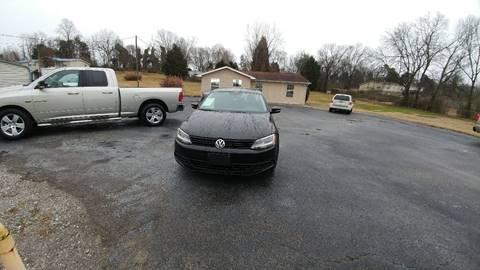2012 Volkswagen Jetta for sale at K & P Used Cars, Inc. in Philadelphia TN