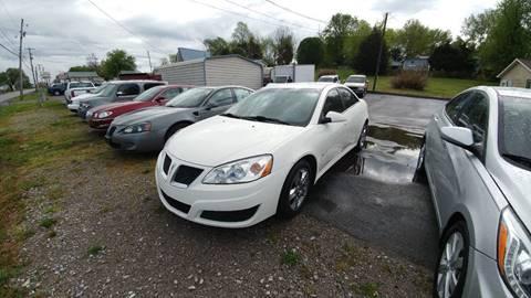 2010 Pontiac G6 for sale at K & P Used Cars, Inc. in Philadelphia TN