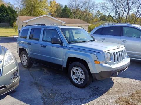 2013 Jeep Patriot for sale in Philadelphia, TN