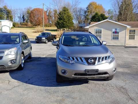 2009 Nissan Murano for sale in Philadelphia, TN