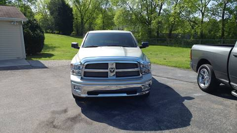 2010 Dodge Ram Pickup 1500 for sale at K & P Used Cars, Inc. in Philadelphia TN
