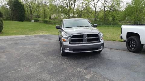 2012 RAM Ram Pickup 1500 for sale at K & P Used Cars, Inc. in Philadelphia TN