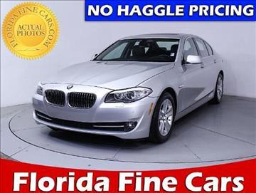 2011 BMW 5 Series for sale in West Palm Beach, FL