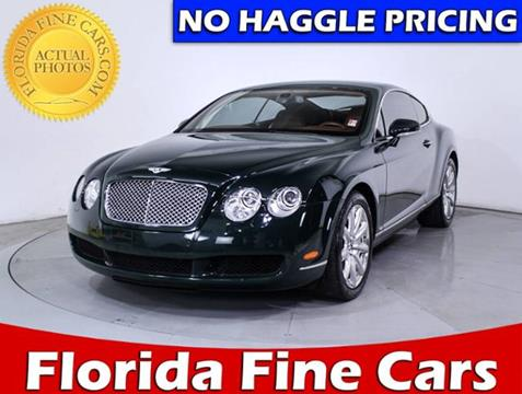 2007 Bentley Continental GT for sale in West Palm Beach, FL