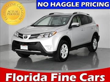 2013 Toyota RAV4 for sale in West Palm Beach, FL