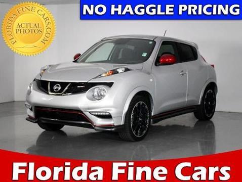 2014 Nissan JUKE for sale in West Palm Beach, FL