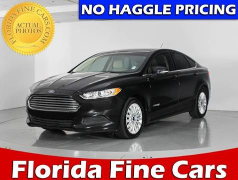 2014 Ford Fusion Hybrid for sale in West Palm Beach, FL