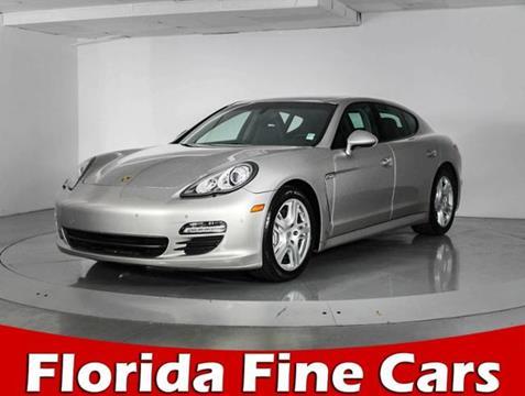 2011 Porsche Panamera for sale in West Palm Beach, FL