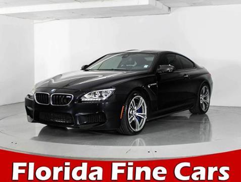 2014 BMW M6 for sale in West Palm Beach, FL