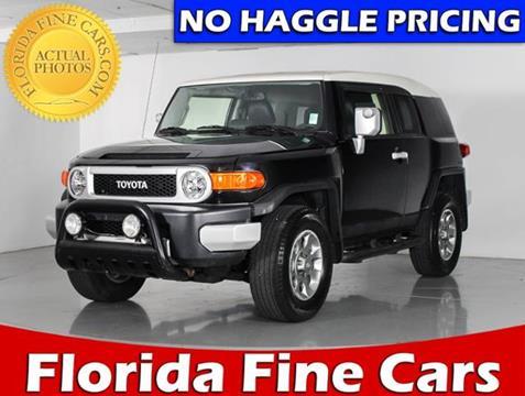 2013 Toyota FJ Cruiser for sale in West Palm Beach, FL