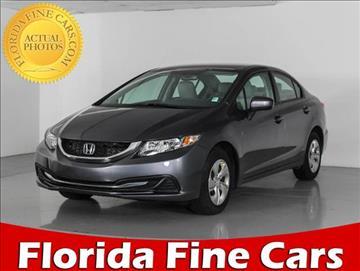 2015 Honda Civic for sale in West Palm Beach, FL