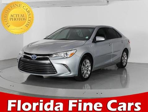 2015 Toyota Camry Hybrid for sale in West Palm Beach, FL