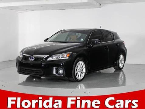 2013 Lexus CT 200h for sale in West Palm Beach, FL