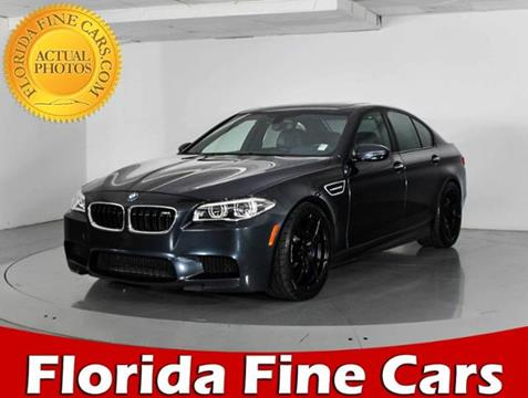 2014 BMW M5 for sale in West Palm Beach, FL