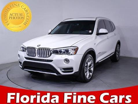 2016 BMW X3 for sale in West Palm Beach, FL