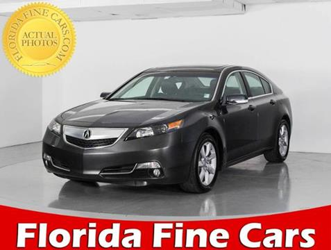 2014 Acura TL for sale in West Palm Beach, FL