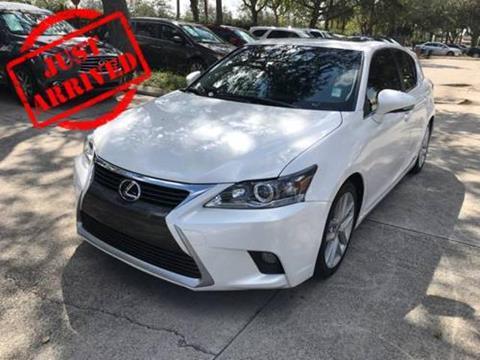 2015 Lexus CT 200h for sale in West Palm Beach, FL