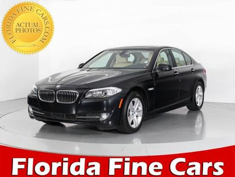 2012 BMW 5 Series for sale in West Palm Beach, FL