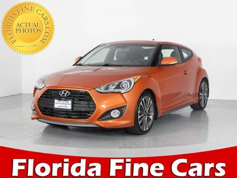 2015 Hyundai Veloster Turbo for sale in West Palm Beach, FL