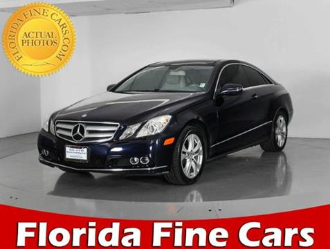 2010 Mercedes-Benz E-Class for sale in West Palm Beach, FL