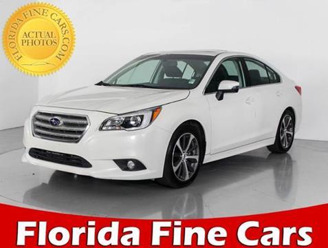 2015 Subaru Legacy for sale in West Palm Beach, FL