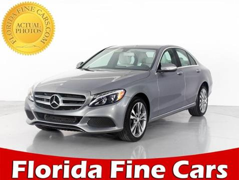 2015 Mercedes-Benz C-Class for sale in West Palm Beach, FL