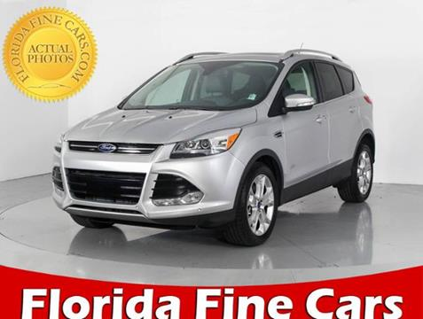 2016 Ford Escape for sale in West Palm Beach, FL