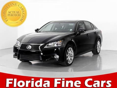 2013 Lexus GS 350 for sale in West Palm Beach, FL