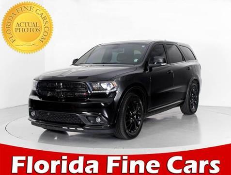 2014 Dodge Durango for sale in West Palm Beach, FL