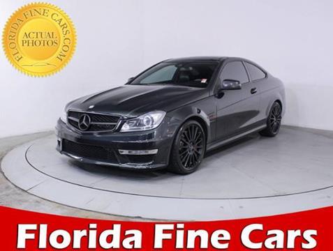 2012 Mercedes-Benz C-Class for sale in West Palm Beach, FL