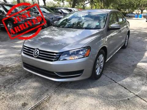 2013 Volkswagen Passat for sale in West Palm Beach, FL