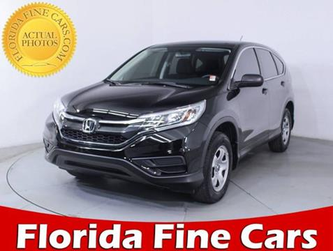 2015 Honda CR-V for sale in West Palm Beach, FL