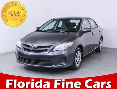 2011 Toyota Corolla for sale in West Palm Beach, FL