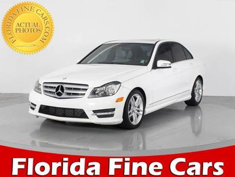 2013 Mercedes-Benz C-Class for sale in West Palm Beach, FL