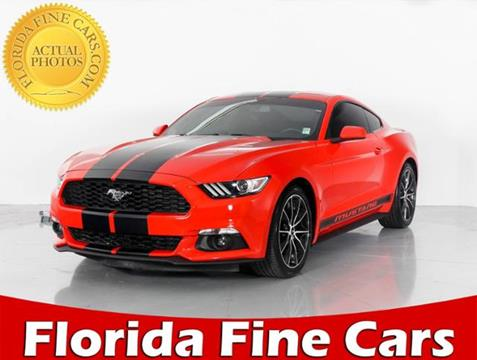 2015 Ford Mustang for sale in West Palm Beach, FL