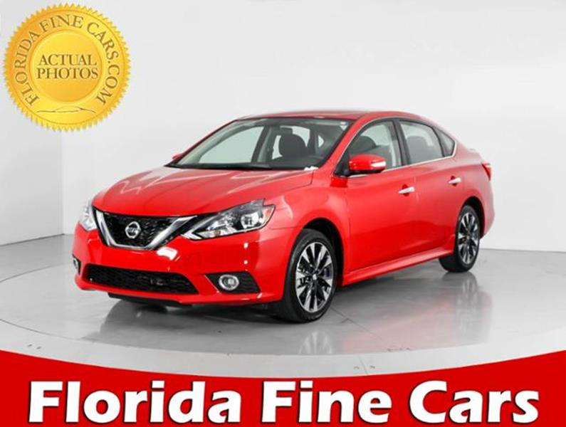 2017 Nissan Sentra SR CVT   West Palm Beach FL