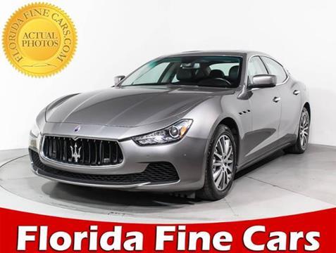 2014 Maserati Ghibli for sale in West Palm Beach, FL
