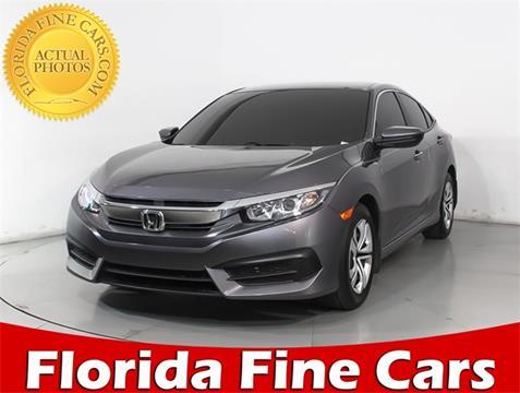 2018 Honda Civic for sale in West Palm Beach, FL